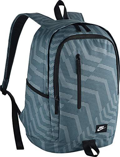 Nike NK All Access Soleday Bkpk-AOP Rucksack, Unisex, Erwachsene, Unisex-Erwachsene, Rucksack, BA5231-494, Blau/Schwarz/Weiß (Space Blue/Black/White), MISC