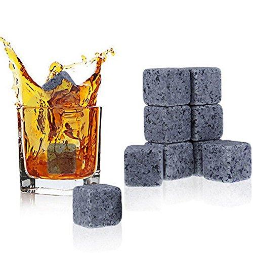 Whisky Kühlung stone-nacola natürlichen Whiskey Steinen Ice Cube Whisky Stein Whisky Rock Kühler Hochzeit Geschenk Favor Weihnachten Bar Kalten Gletscher Stein