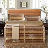 Preisvergleich für Coole Matratze Shuimo carbonisierte Matten zur Erhöhung der doppelten Bambusmatte doppelseitige dicke Bambusmatten gelten 1,8 m Bett Sandspiegel Matten (ohne Kissenbezüge) Coole Bambusmatte ( größe : 1.8 m beds )