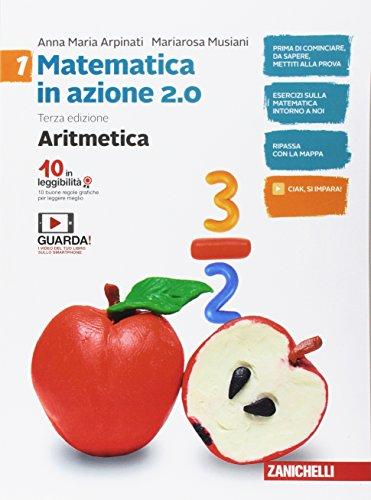 Matematica in azione. aritmetica-geometria. con fascicolo pronto soccorso. per le scuola media. con contenuto digitale (fornito elettronicamente): 1