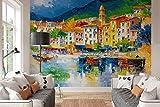 Riviera Ligure // Fototapete 8-teilig 254 x 366 cm // Achtteilige Fototapete // Poster-Tapete // XXL Wandbild // Reindersshop #15908