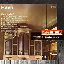 Bach: Organ Works (KulturSpiegel - Eterna - Über Grenzen Hinaus)