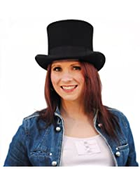 Christys Fashion Top Hat (Extra Large with box, Black)
