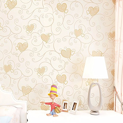 bizhi-art-deco-wallpaper-contemporary-wall-covering-053m10myellow