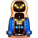 E-KIA MassagegeräT Elektrisch Massageliege,3D Airbag Knetmassage Kissen, Multifunktions Massage Stuhl, TaillenrüCken