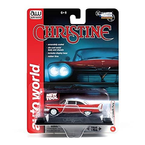 CHRISTINE Stephen King's Movie DieCast Model Car 1/64 Greenlight