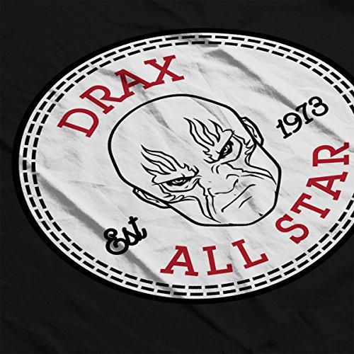 Guardians Of The Galaxy Drax All Star Converse Men's T-Shirt Black
