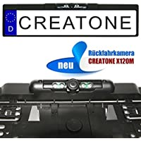 Creatone x120m Marcha Atrás con visión nocturna IR LEDs en kennzeichenhalterung L 170° Gran Angular de