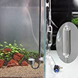 Coeus Peces de acuario contador de burbujas co2 tanque de retención de aire corrector válvula