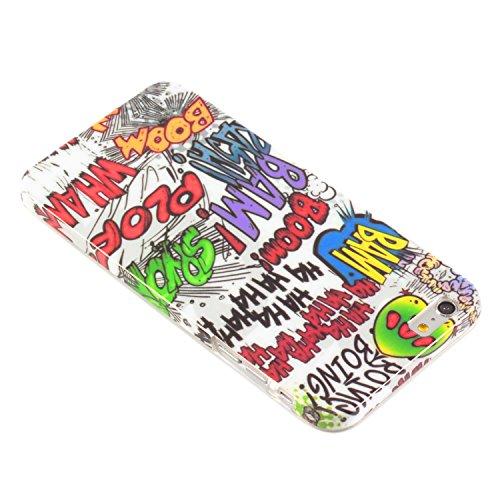 deinphone Apple iPhone 6Plus (5.5) Coque bumper Case Comic Boom