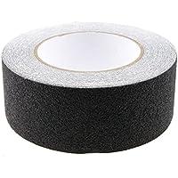 Antideslizante antideslizante seguridad cinta antideslizante adhesiva respaldados por cinta (negro), 10M