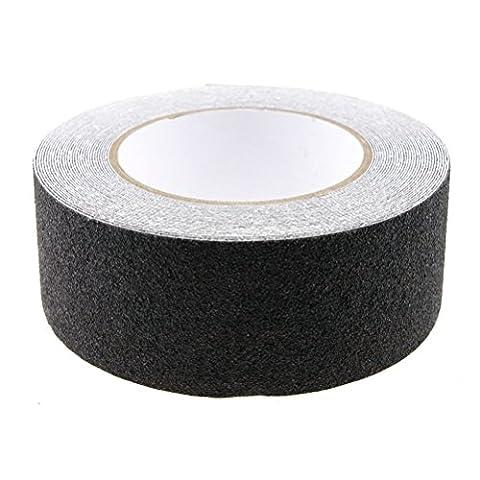 PIXNOR 10M High Grip Anti Slip Tape Non Slip Adhesive Backed Tape (Black)