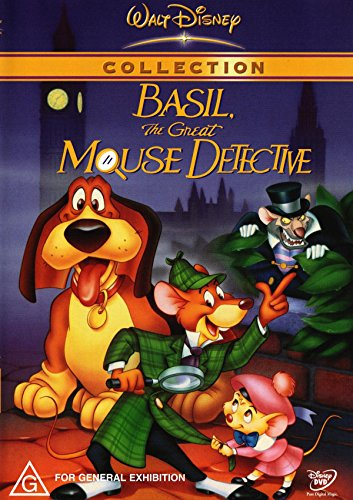 MOVIE - BASIL THE GREAT MOUSE DETECTIVE (1 DVD) (Mouse Great Dvd Detective)