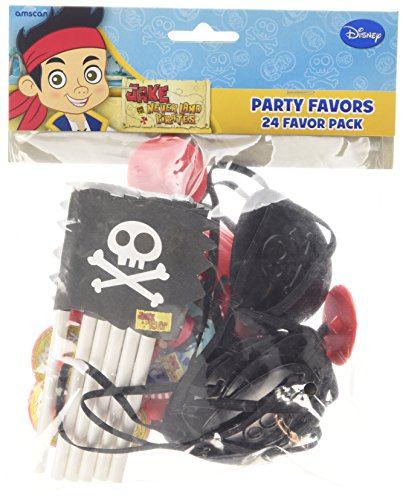 "Amscan International - Set di 24 accessori per feste ""Jake e i pirati"""