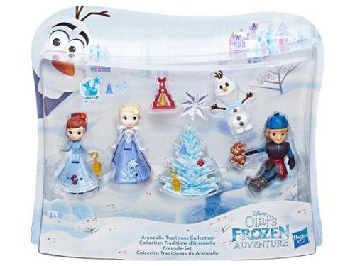 Hasbro Disney Die Eiskönigin C1921EU4 Little Kingdom Olafs Holiday Adventure Freunde-Set, (Kristoff Amazon Kostüm)