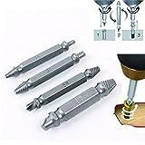 HENGSONG Schrauben Werkzeuge 1 Set zum Entfernen beschädigter Schrauben Schraubenentferner