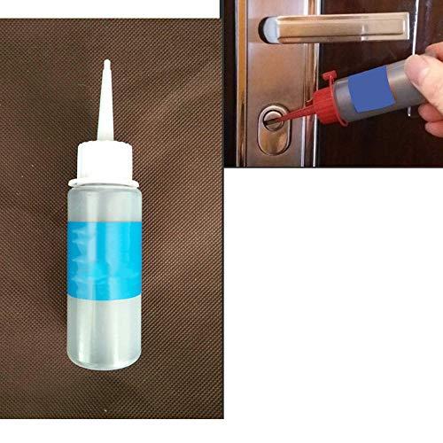 LZDseller01 Lubricante en Polvo de Grafito, Lubricante en Polvo Fino de Grafito para Cerradura Cerrajero...
