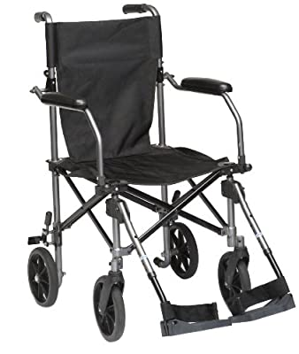 Drive TraveLite Lightweight Aluminium Folding Transport Chair in a Bag