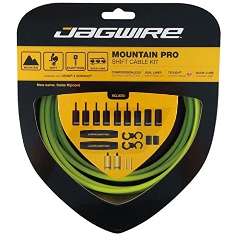 Jagwire Ripcord MTB Gear Cable Kit - Green