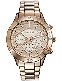 Esprit TP10886 Women's Quartz Watch with Rose Gold Dial Analogue Display and Rose Gold Stainless Steel Bracelet ES108862003