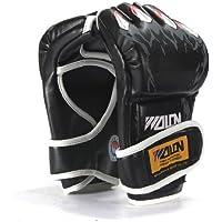 FamilyMall MMA W85118 - Guantes de boxeo de agarre negro negro
