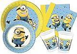 Ciao y4487Kit Party Tisch Minions Lovely für 8Personen, hellblau/gelb