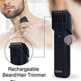 Ozoy Beard trimmer for men Professional Cordless Compact Portable Design with Adjustable Trim