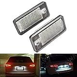 LOWELLTEK Auto LED Kennzeichenbeleuchtung Nummernschilder Licht A4/S4/RS4/A5/A6 (white)