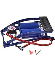 Filmer 18030 - Bomba de aire mecánica (2 cilindros, 120 mm), color azul
