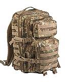Mil-Tec Us Assault Pack Breite Laser Cut Großer Rucksack, damen Herren uni, Us Assault Pack, - Arid Woodland