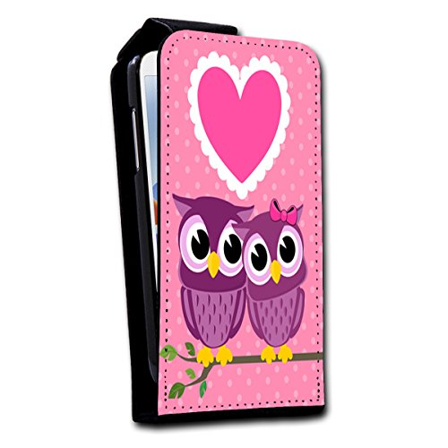 Flip Style vertikal Handy Tasche Case Schutz Hülle Foto Schale Motiv Etui für Apple iPhone 5 / 5S - V2 Design6 Design 9
