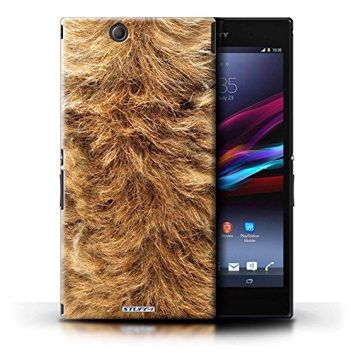 Kobalt® Imprimé Etui / Coque pour Sony Xperia Z Ultra / Girafe conception / Série Motif Fourrure Animale Chien