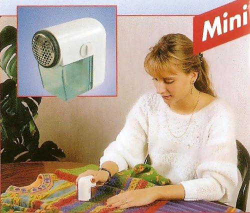 Coronet Mini Wolle Rasierer, weiß/hellblau, 8X 7,5cm