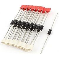 Aexit 20 unidades supresoras de voltaje transitorio P6KE150A DO-15 diodos (model: G7571VIIO-9840HL) TVS 600W 150V