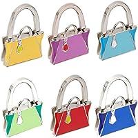 Borsa Gancio Pieghevole Titolare Sacchetto Appendiabiti Regalo Donna - 6 Colore - (Panca Appendiabiti)