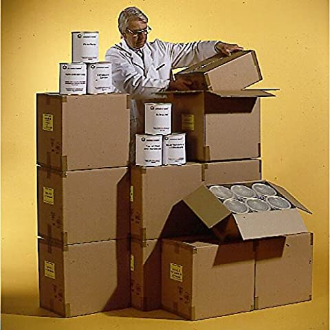 Grundnahrungsmittel 360 Tagepaket - Lebensmittelvorrat - Beste Familienvorsorge Optimal für Krisenvorsorge Langzeitnahrungsmittel Notvorrat, MHD 15 Jahre - Ohne