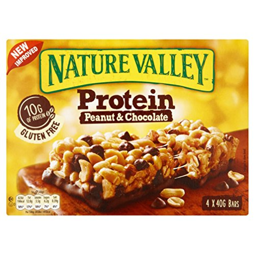 Nature Valley Protein Peanut Butter & Chocolate Cereal Bars 4 x 40g Test