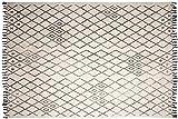 AUBRY GASPARD Tapis berbère en Coton Masuna 200x300 cm