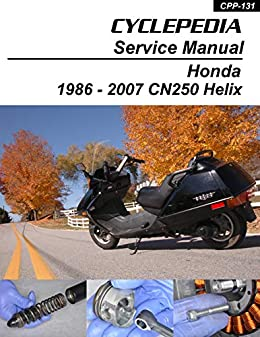 1986-2007 Honda CN250 Helix Repair Manual eBook: Cyclepedia ... on