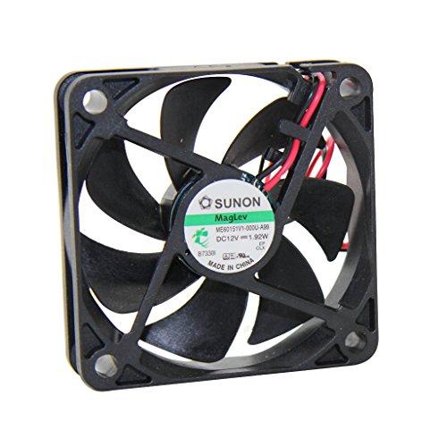 ME60151V1-A99 Fan DC axial 12VDC 60x60x15mm 42.84m3/h 36.2dBA Vapo SUNON