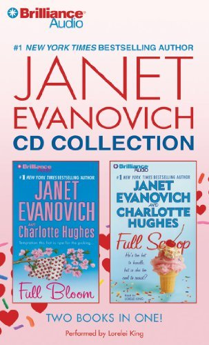 Janet Evanovich CD Collection: Full Bloom, Full Scoop by Janet Evanovich (2011-03-29)