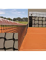 Red de tenis doble con cinta perimetral