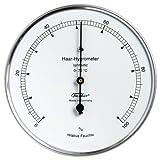 Fischer Präzis Haar-Hygrometer synthetic Gehäuse Edelstahl Erzgebirge