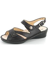 FinnComfort SANTORIN 2667380023 Damen Sandalette, Braun 42,5 EU