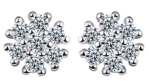 SaySure - S925 Silver Stud Earring New Fine Jewelry