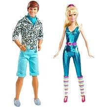Mattel R4242-0 - Barbie y Ken Gift Set, Los amantes de Toy Story 3, entre ellos dos muñecas