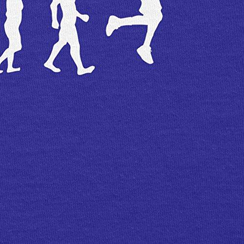 NERDO Basketball Evolution - Damen T-Shirt Marine
