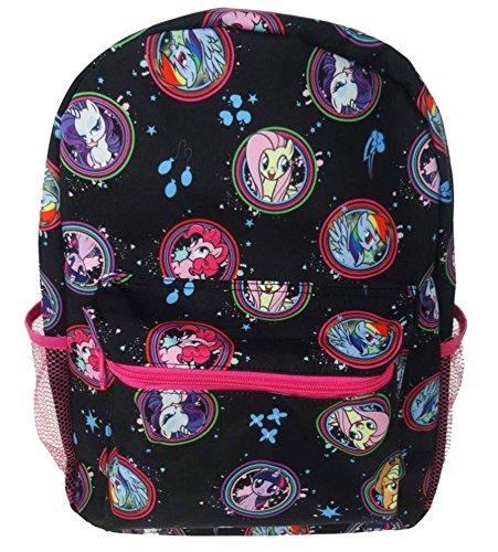 (My Little Pony - Große Tasche der Kinder, 40 cm, 16 L, schwarz)