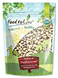 Bio Black-Eyed Erbsen durch Food to Live (Rohe getrocknete Kuherbsen, Non-GMO, Koscher, Bulk-Bohnen, Produkt der USA) - 3 Pfund