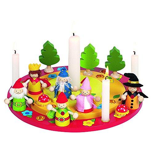 Haba Goki 60993 - Dekoration - Geburtstagskranz mit Figurenset